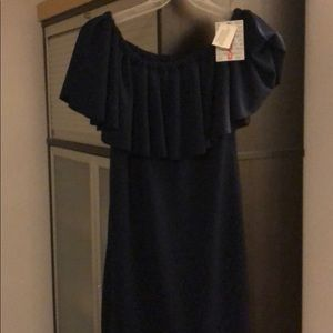 Lularoe Dress with tags size small navy